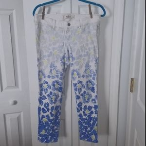 Hollister ombre capris (Size 9/w29)limited edition